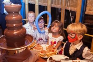 Изображение Фан Фонтан на детском празднике!